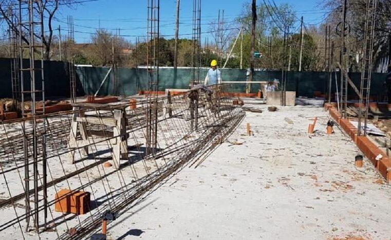 Avanza la construcción del nuevo Centro de Salud de Tigre Sur