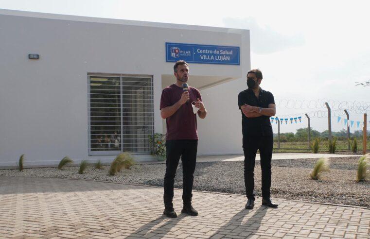 Bianco y Achával inauguraron un centro de salud en Pilar