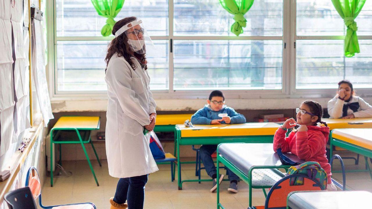 Esta semana vuelven a las escuelas 6700 alumnos de la provincia