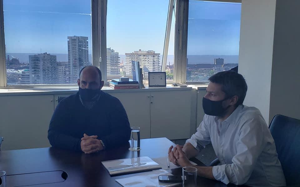 Sanzio y Lammens confirmaron obras para el Polideportivo de Baradero