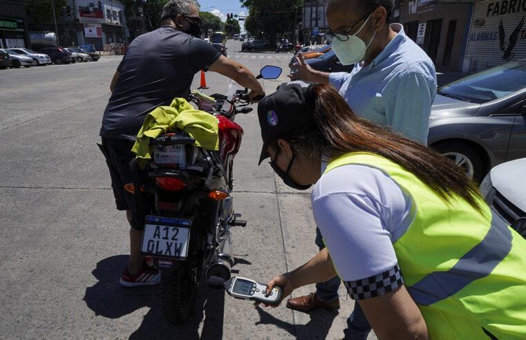 Vicente López: Retienen motos que exceden límite de ruido permitido