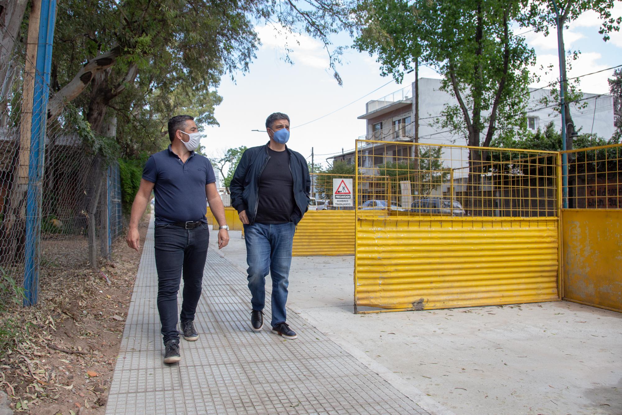 Jorge Macri destacó las obras de renovación del espacio público en Munro Oeste
