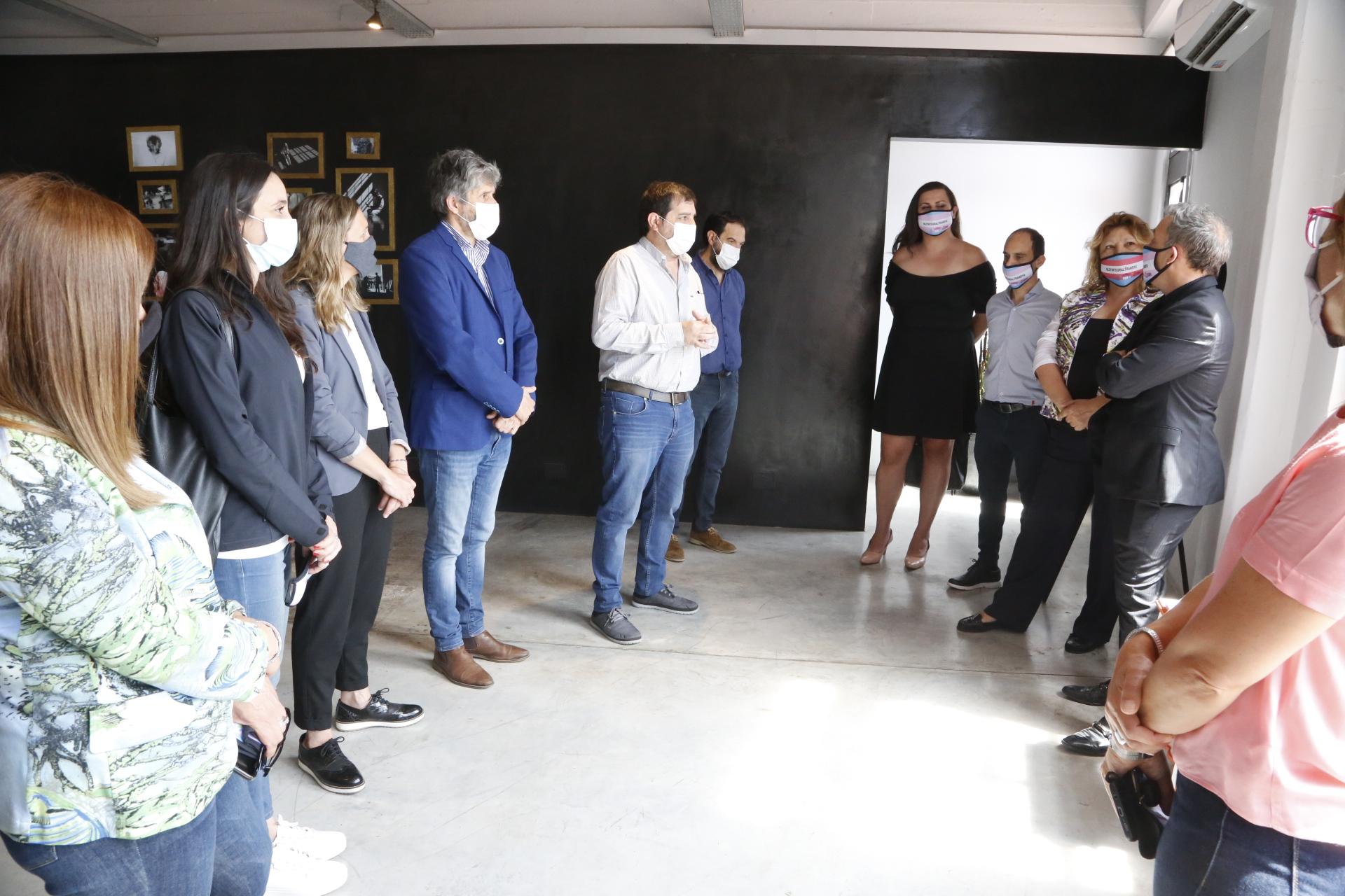 Moreira visitó Grupo Advance, una empresa de San Martín referente en inclusión laboral