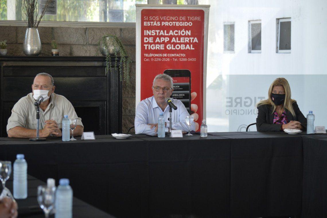 Anunciaron inversión para equipamiento policial en Tigre