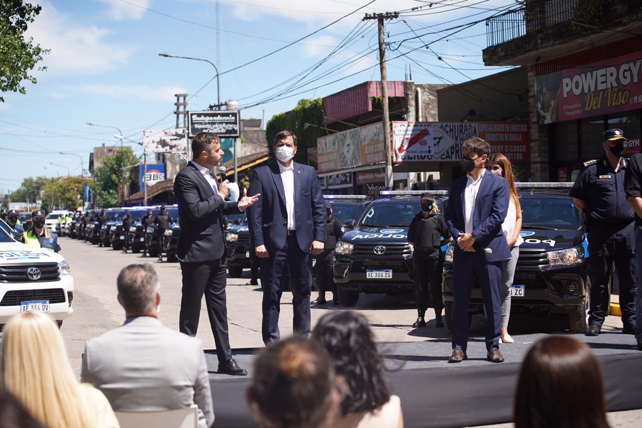 Kicillof y Achával anunciaron inversión de $500 millones en seguridad para Pilar
