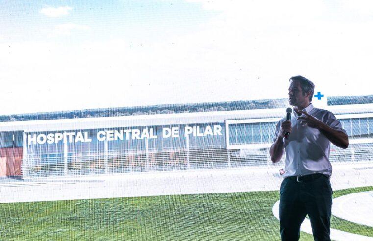 Achával anunció el inicio de las obras para el Hospital Central de Pilar