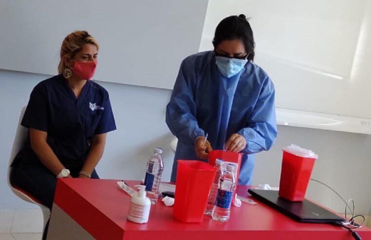 Tigre comenzó a capacitar a los vacunadores eventuales contra el Covid-19