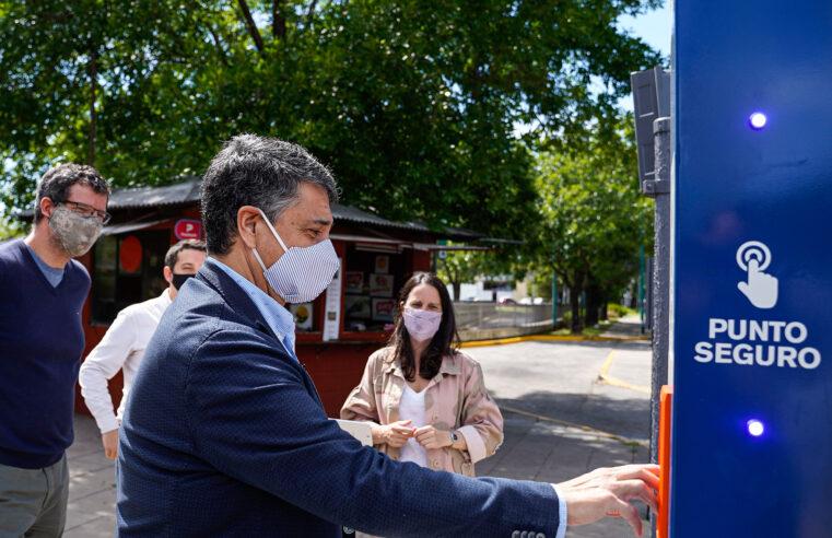 Vicente López suma 15 nuevos Puntos Seguros