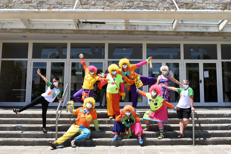 Tigre comenzó a formar su propio grupo de clowns hospitalarios