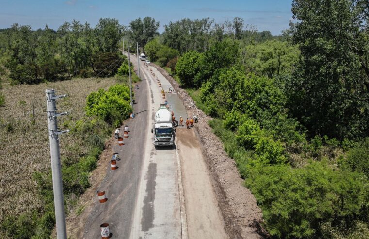 Acuerdan pavimentar la Ruta 25 desde Panamericana hasta el Paseo del Paraná