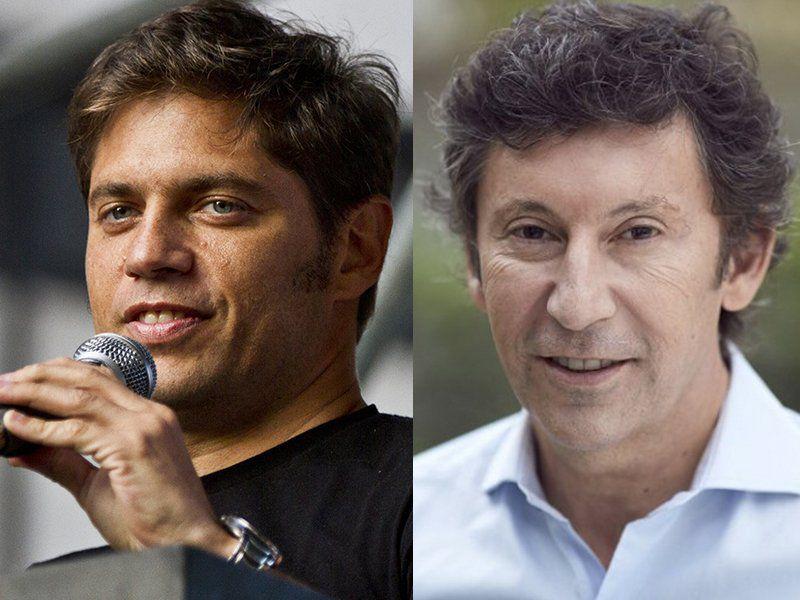 Axel Kicillof y Gustavo Posse, los elegidos en Buenos Aires