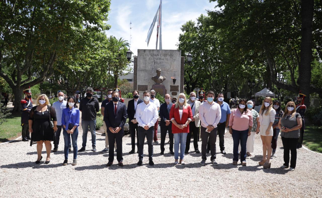"""Achával recordó el paso de San Martín por Del Viso: """"Somos un proyecto político que lucha por la identidad del pueblo"""""""