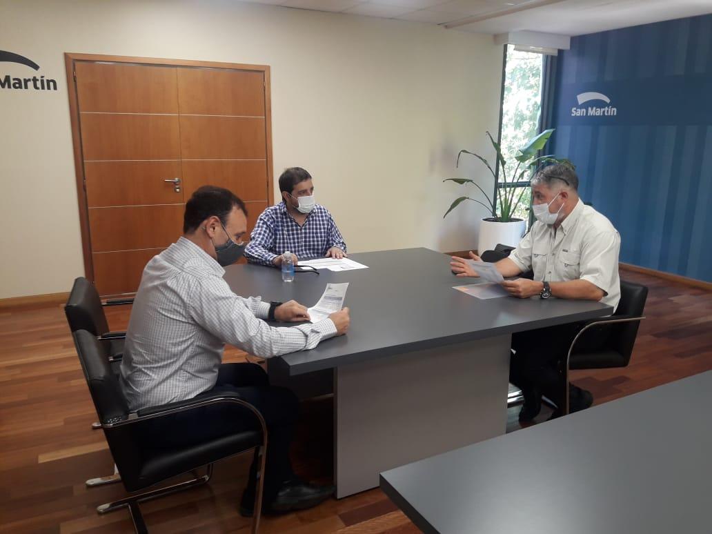 Moreira y Mendez analizaron el estado del servicio de agua y cloacas en San Martín