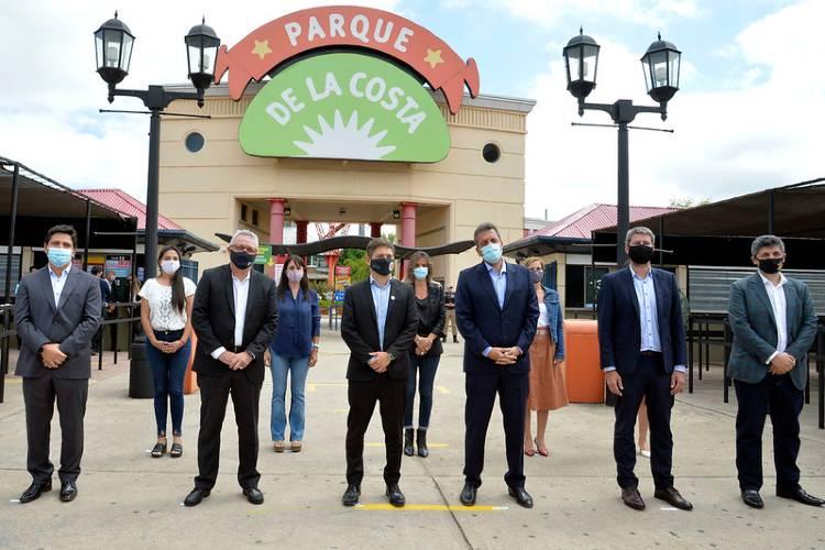 Zamora celebró reapertura del complejo Parque de la Costa