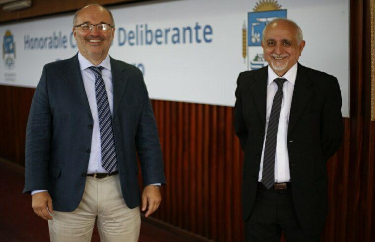 Juan Carlos Berns es el nuevo presidente del HCD de Tres de Febrero
