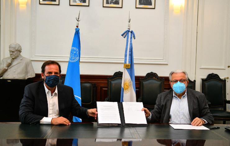 Escobar trabajará con la UBA en la problemática de la ecorregión del Delta e islas del Paraná