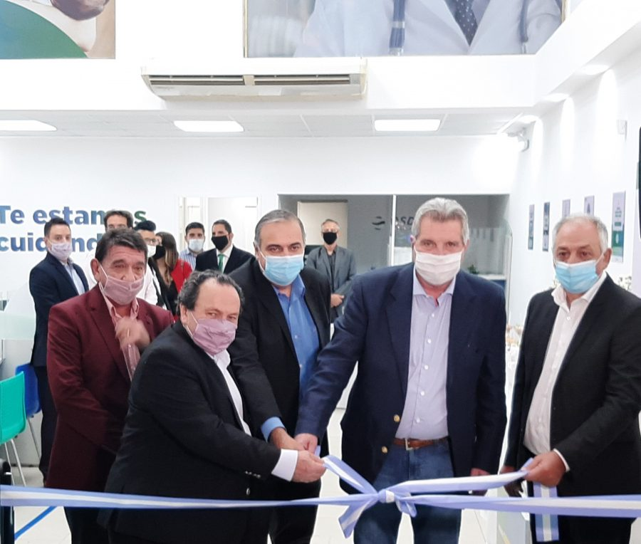 Se reinauguró una sucursal de OSDEPYM en Morón