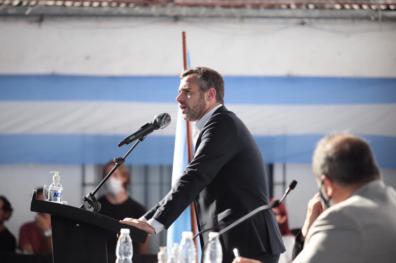 """""""Vinimos acá para reconocer derechos, para transformar y levantar a Pilar"""""""
