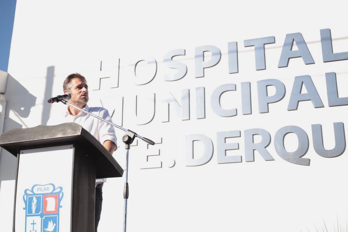 Achával anunció la ampliación del Hospital de Derqui