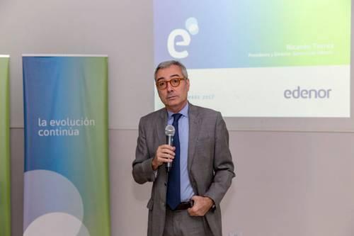 Edenor planteó la necesidad de fondos para mantener el servicio y continuar con la mejora en la calidad