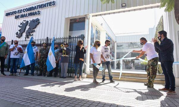 """Se inauguró el Museo """"Ex Combatientes de Malvinas"""""""