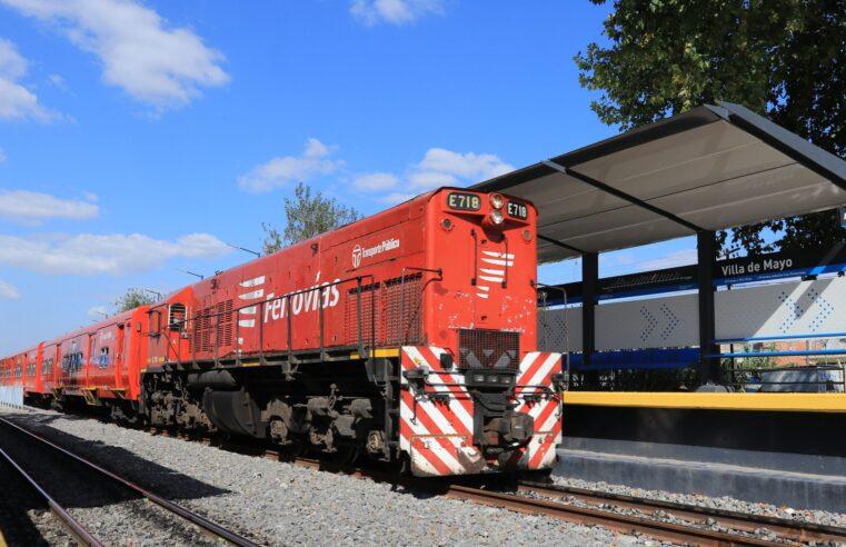 Inauguraron la renovada estación Villa de Mayo de la línea Belgrano Norte
