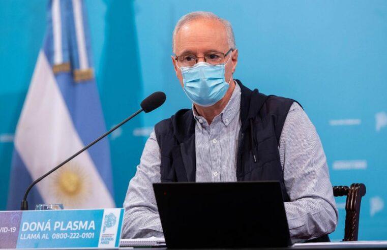 Gollan confirmó que se instalarán centros de aislamiento en el AMBA