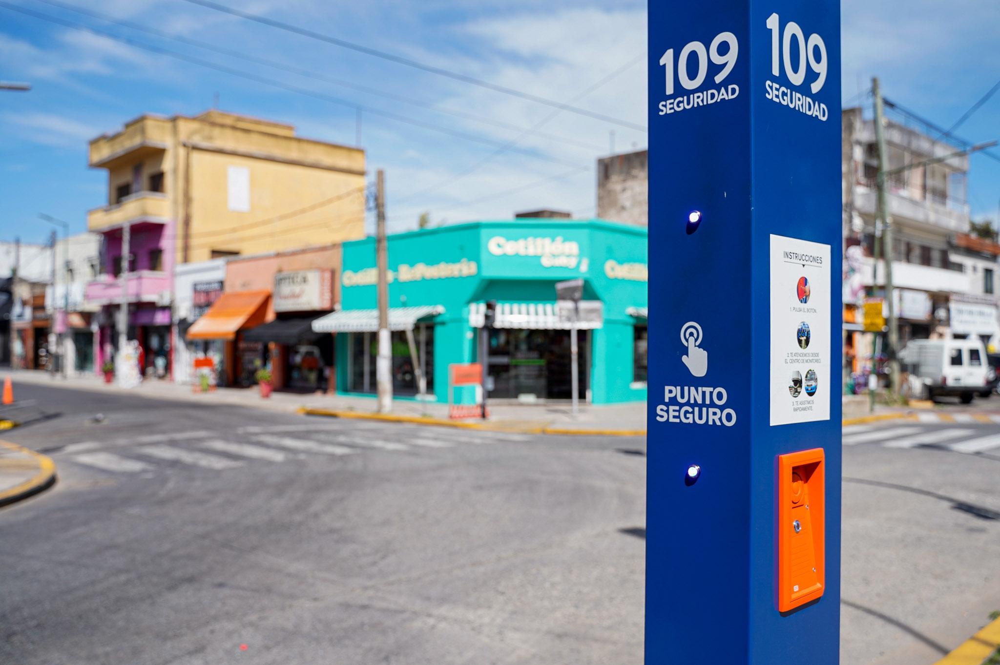 Vicente López cuenta con 67 Puntos Seguros para emergencias