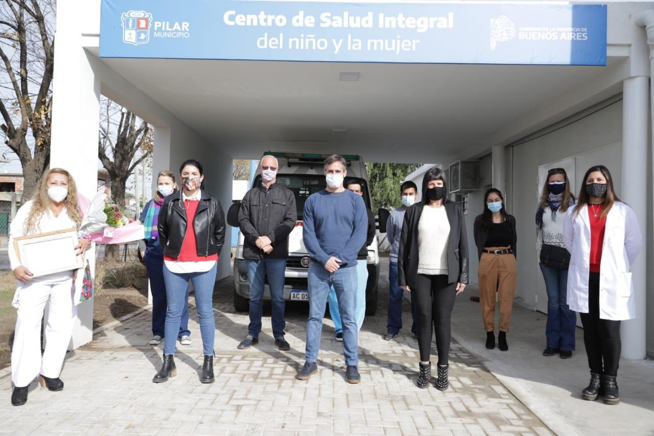 Achával y Gollán inauguraron el Centro de Salud Integral del Niño y la Mujer en Monterrey
