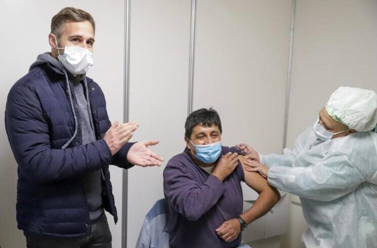 Otorgan diez mil nuevos turnos de vacunación contra el Covid en Pilar