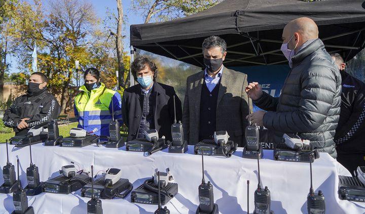 Nuevos equipos de comunicación y más tecnología en seguridad para Vicente López