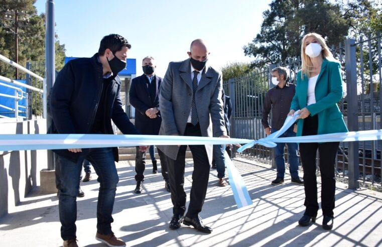 Quedó inaugurada la estación de Ing. Adolfo Sourdeaux