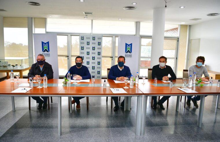 Sujarchuk reasumió la presidencia del consorcio RN2 que se reunió para analizar la situación sanitaria