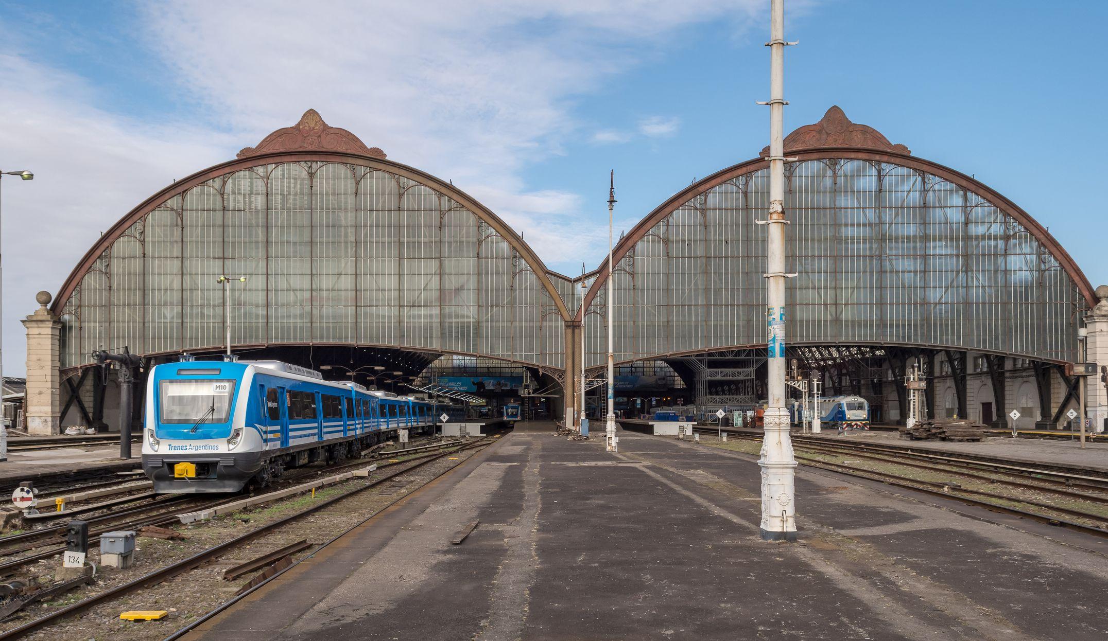 Comienza la histórica obra para renovar el ingreso de trenes a Retiro