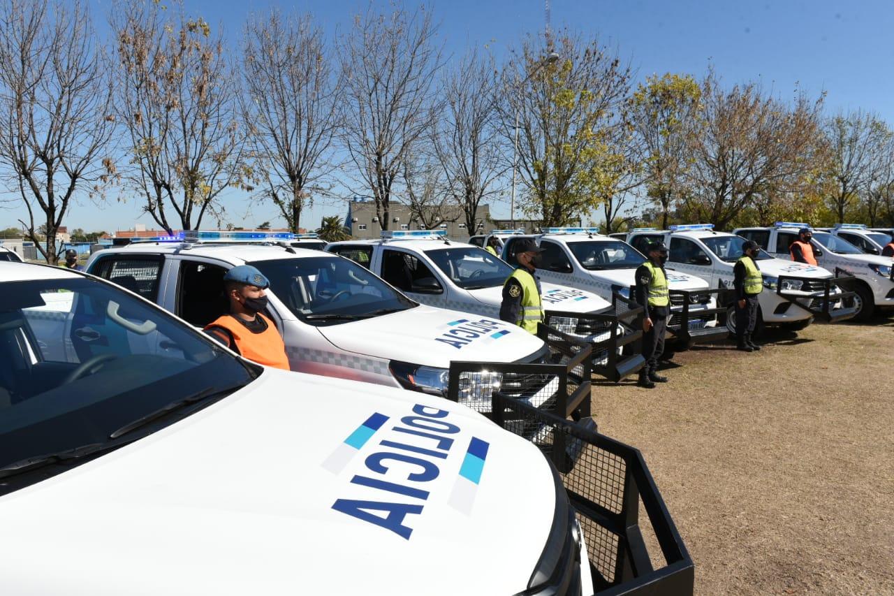 Tres de Febrero suma 35 móviles policiales para reforzar la seguridad