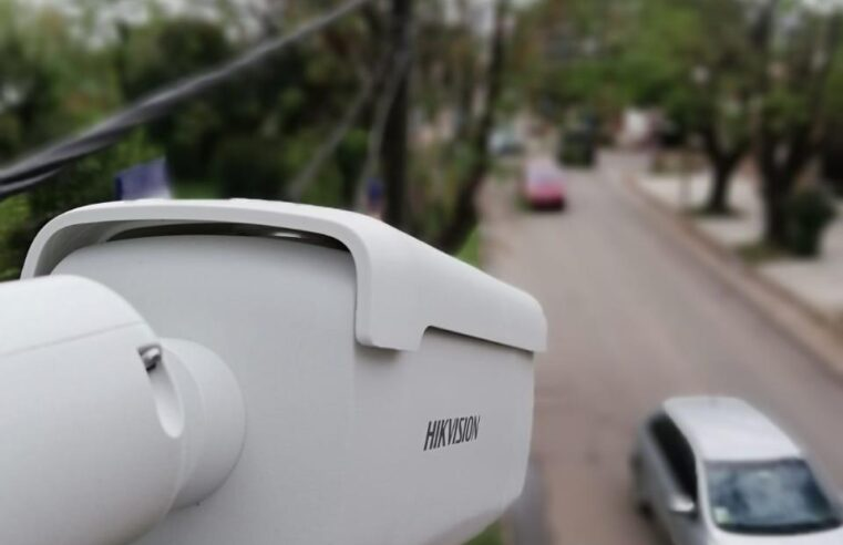 Escobar comenzó a instalar 500 nuevas cámaras de vigilancia