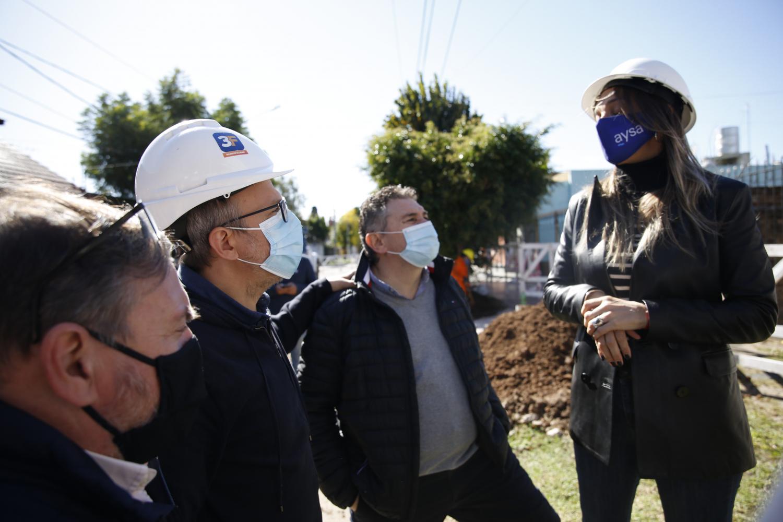 Tres de Febrero: comenzaron las obras para llegar al 100% de cloacas