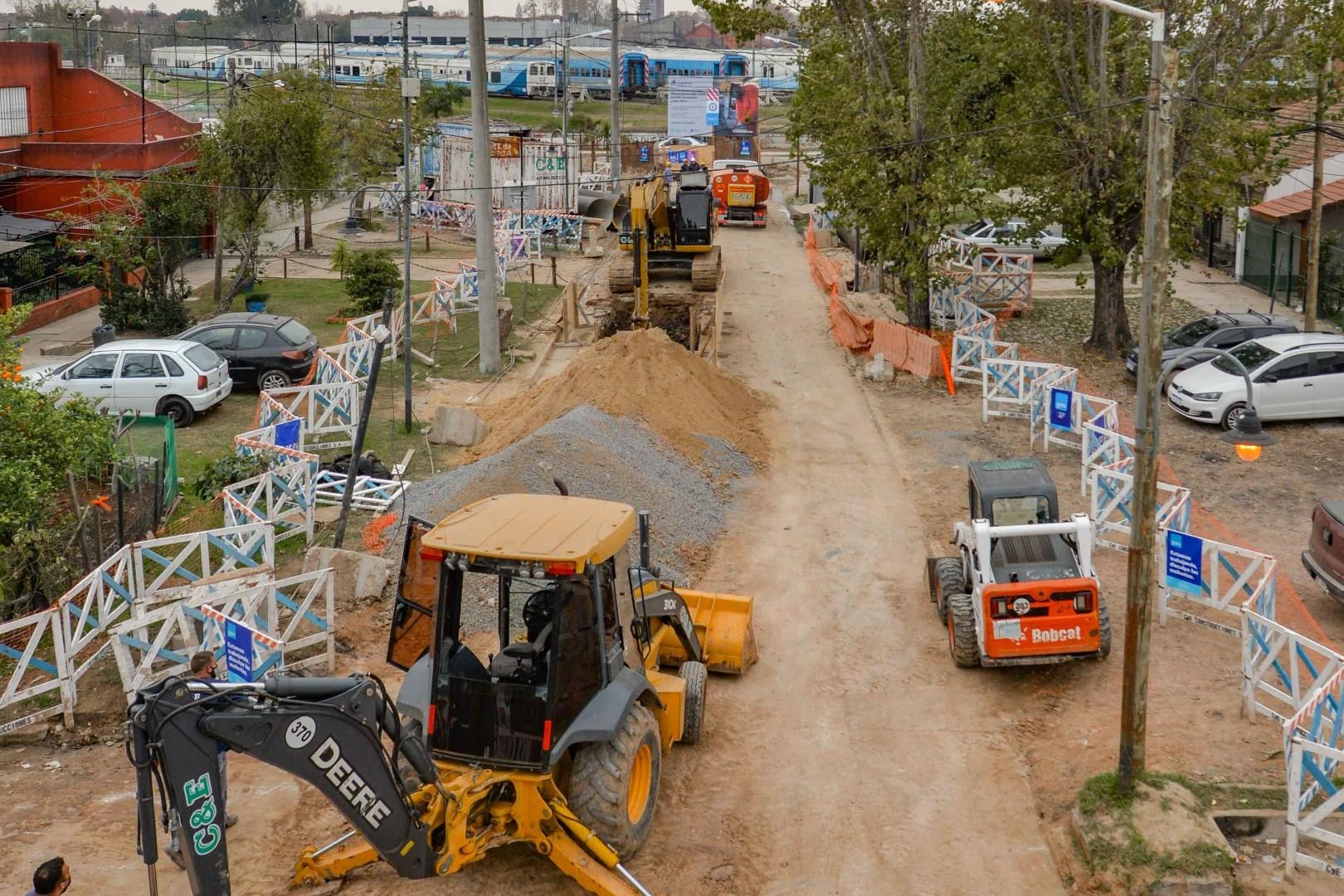 Avanzan las obras complementarias del Túnel de Avenida Sobremonte