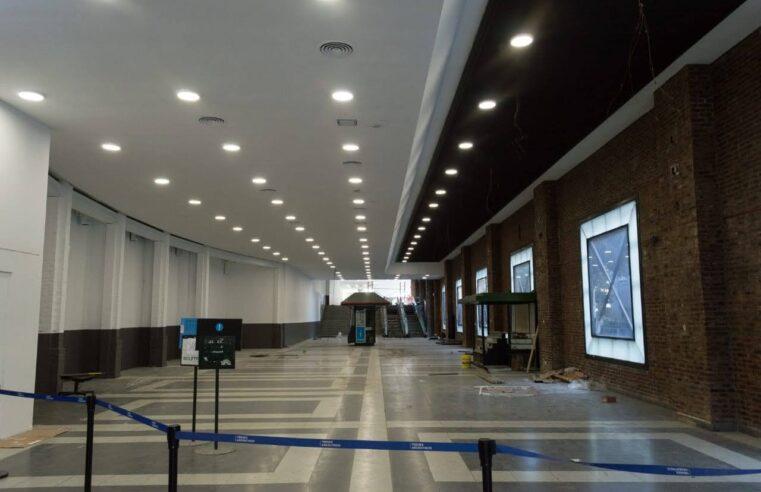 Avanza la remodelación de la estación Maipú del Tren de la Costa