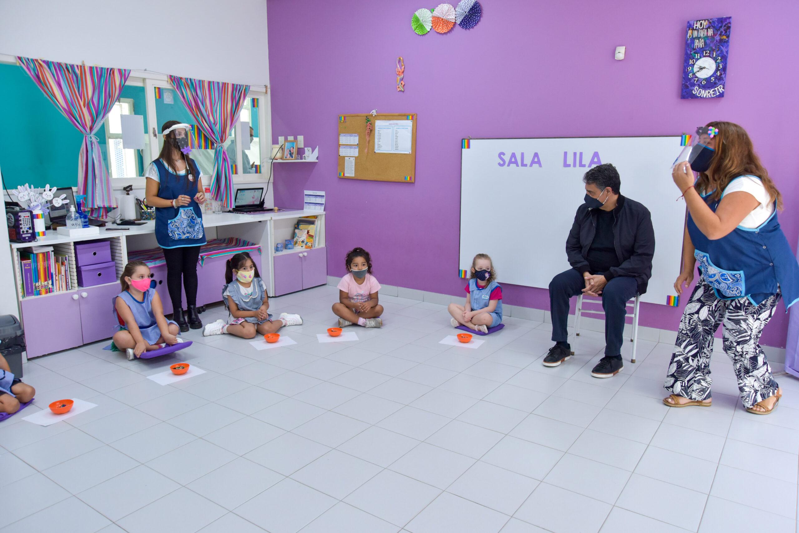 Vicente López invierte 3 millones de pesos en subsidios para jardines maternales privados y los exime de tasas