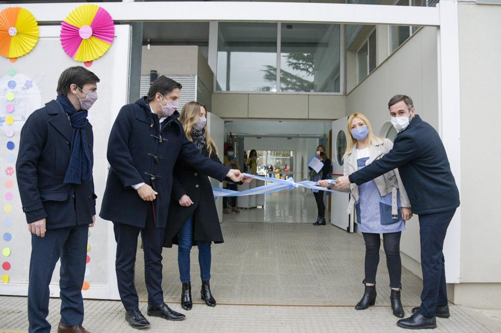 Achával y Trotta inauguraron un jardín de infantes en Lagomarsino