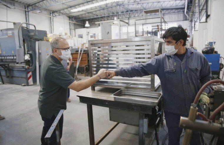 Tres de Febrero lanza un plan de apoyo a la producción PyME, los comercios y la creación de trabajo