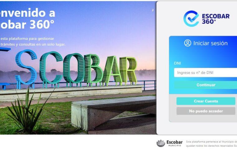 Escobar 360: la nueva plataforma para realizar trámites y acceder a servicios de manera virtual