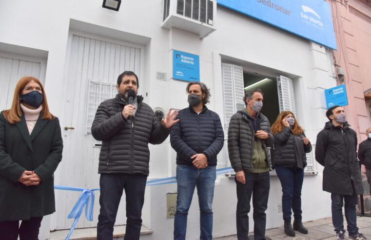 Moreira, Cafiero y Katopodis inauguraron un Centro de Atención de Consumos Problemáticos