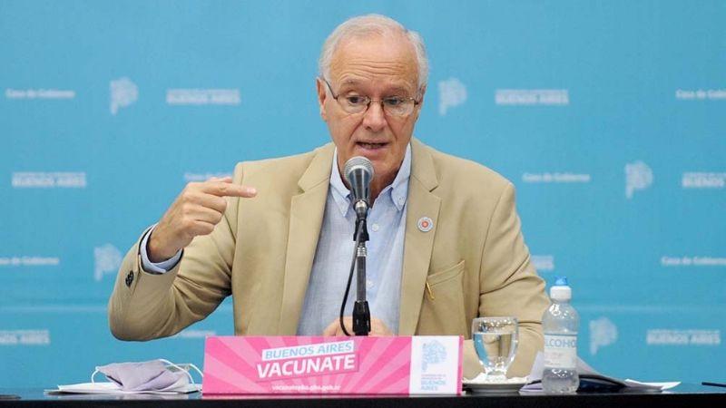 """Gollan dijo que es """"inminente"""" la autorización de más vacunas para uso pediátrico"""