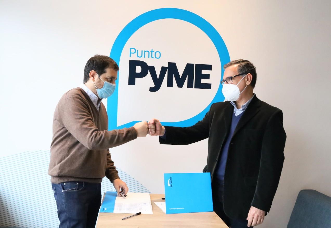 San Martín reabrió Punto PyME con una nueva agenda de actividades