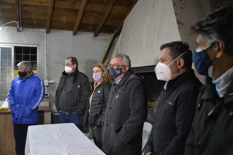 """""""Es fundamental el trabajo articulado entre el Estado municipal y los clubes de barrio"""""""