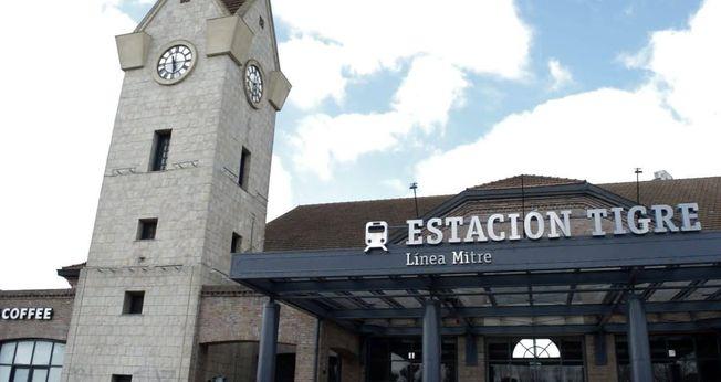 Avanza la renovación de la Estación Tigre de la Línea Mitre
