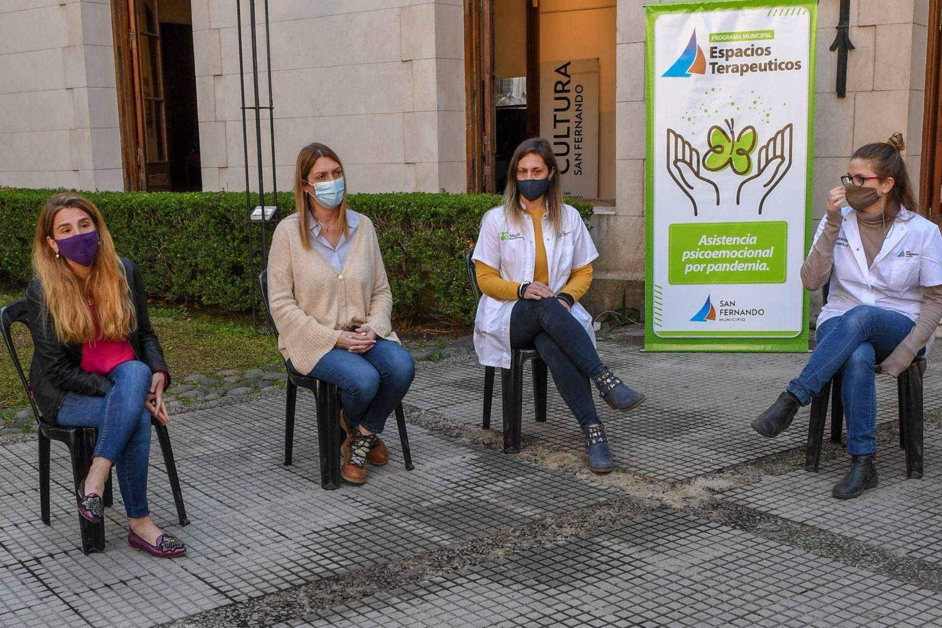 San Fernando presentó su nuevo Programa de Espacios Terapéuticos Municipales