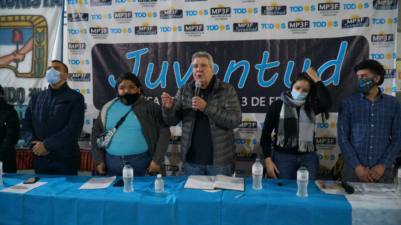 Jóvenes peronistas buscan un lugar en el consejo de Tres de Febrero